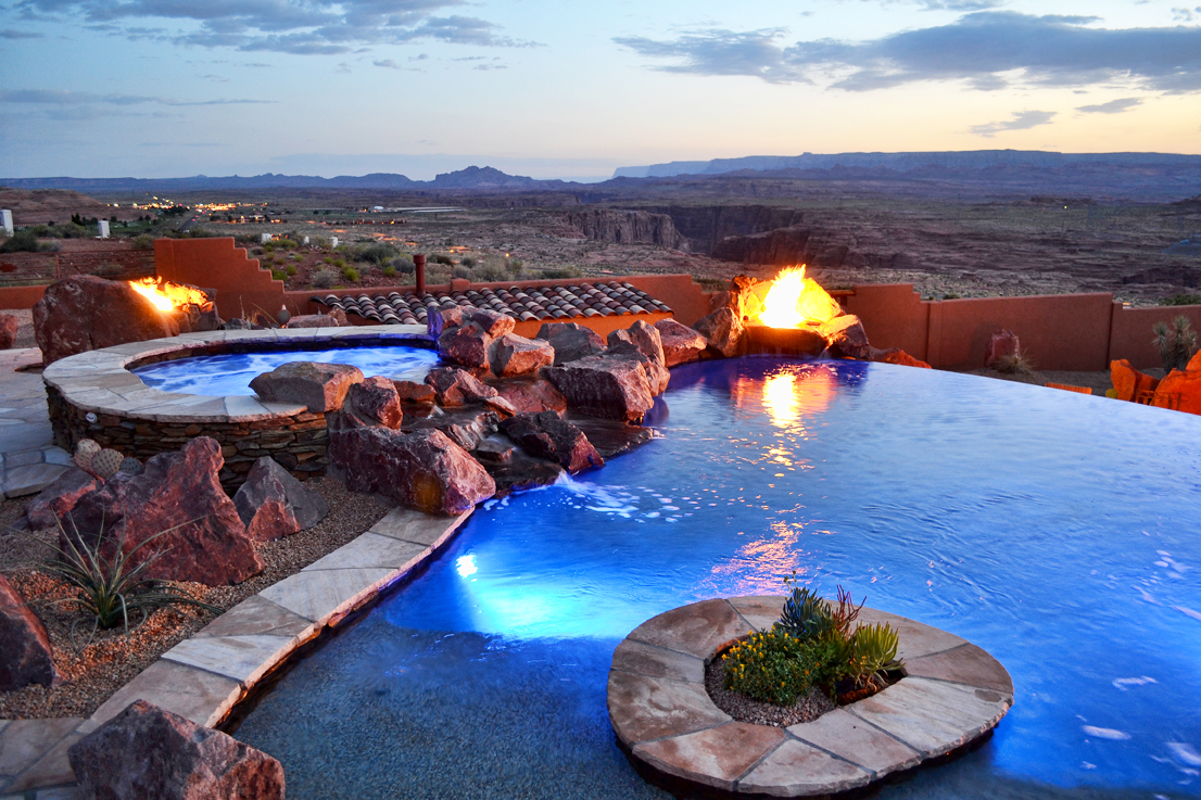 Exclusive Lake Powell Luxury Home Kokopelli